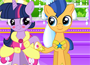MLP Twilight Sparkle y Flash Sentry Kissing