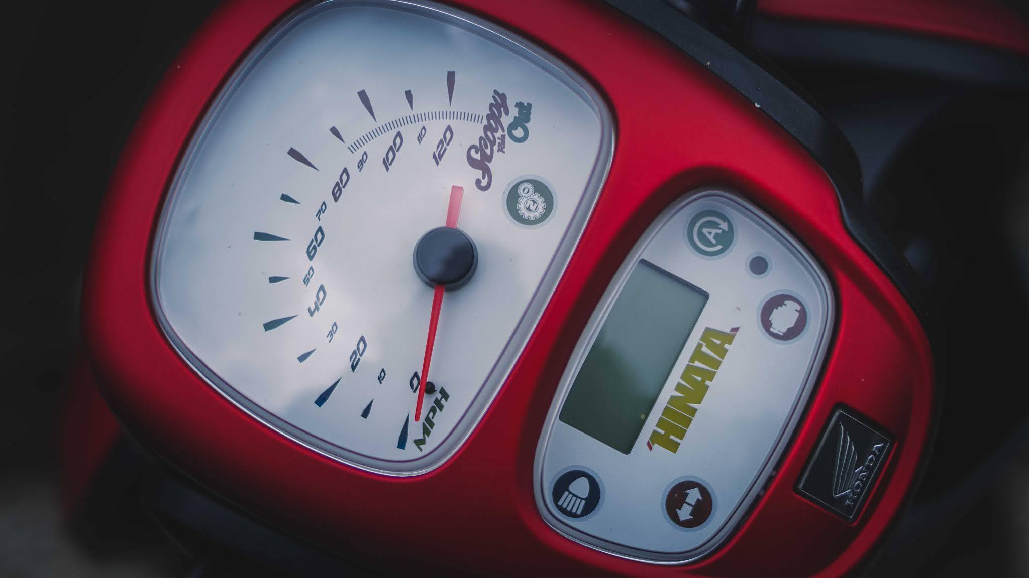 speedometer scoopy fi custom