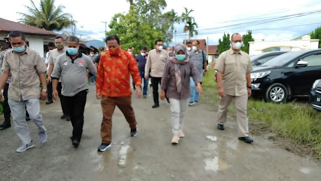 Kapolda Jambi Bersama Kepala Bawaslu RI Tinjau Gudang Logistik KPU Sungai Penuh dan Kota Kerinci