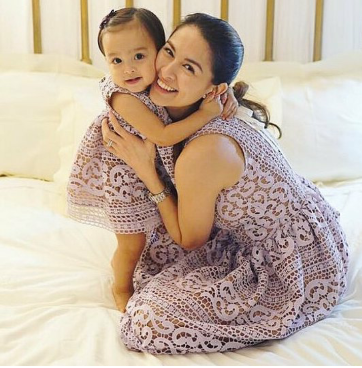 Fesyen Sedondon Marian Rivera dan Baby Zia
