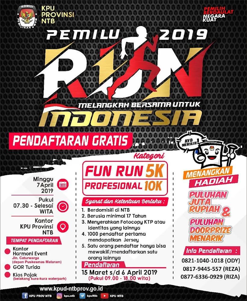 Pemilu Run - NTB • 2019