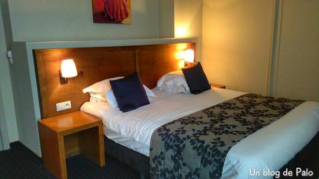Hotel De Flandre habitación
