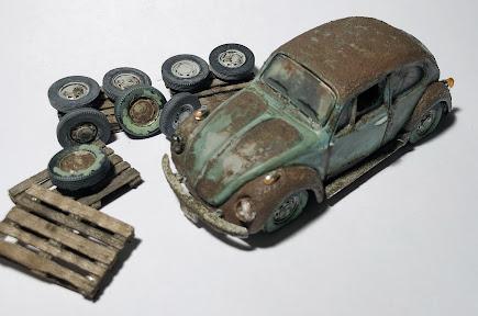 VW Pneu, CAD, Miniature, 1:43