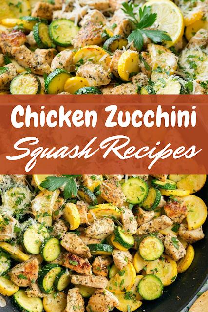 Chicken Zucchini Squash Recipes