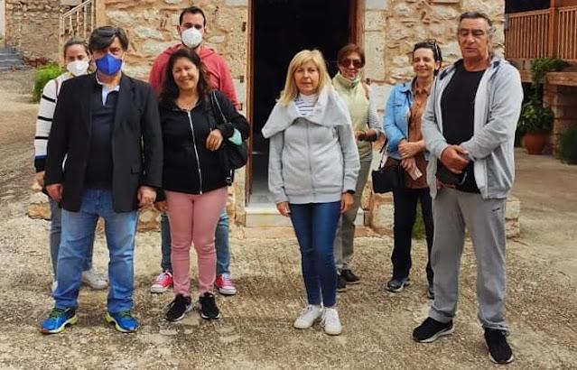 Από την Μονή Ταλαντίου ξεκίνησαν οι ξεναγήσεις του ΔΟΠΠΑΤ στα ιστορικά μνημεία του Δήμου Ναυπλιέων