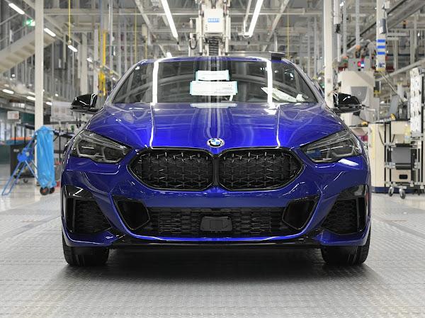 BMW Série 2 Azul San Marino