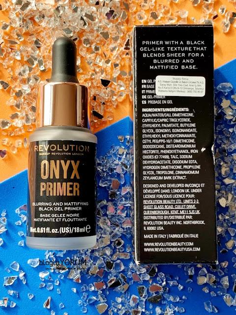 Revolution Onyx Primer içerik