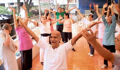 Free from Stress & depression, laughter yoga, yoga exercise
