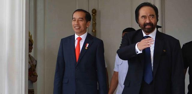 Beri Panggung Untuk Anies, Nasdem Mulai Anggap Jokowi Masa Lalu