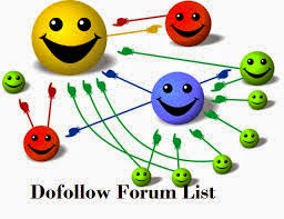 list of dofollow forum blogs