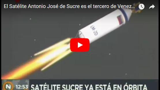 Venezuela lanza nueva chatarra espacial este lunes