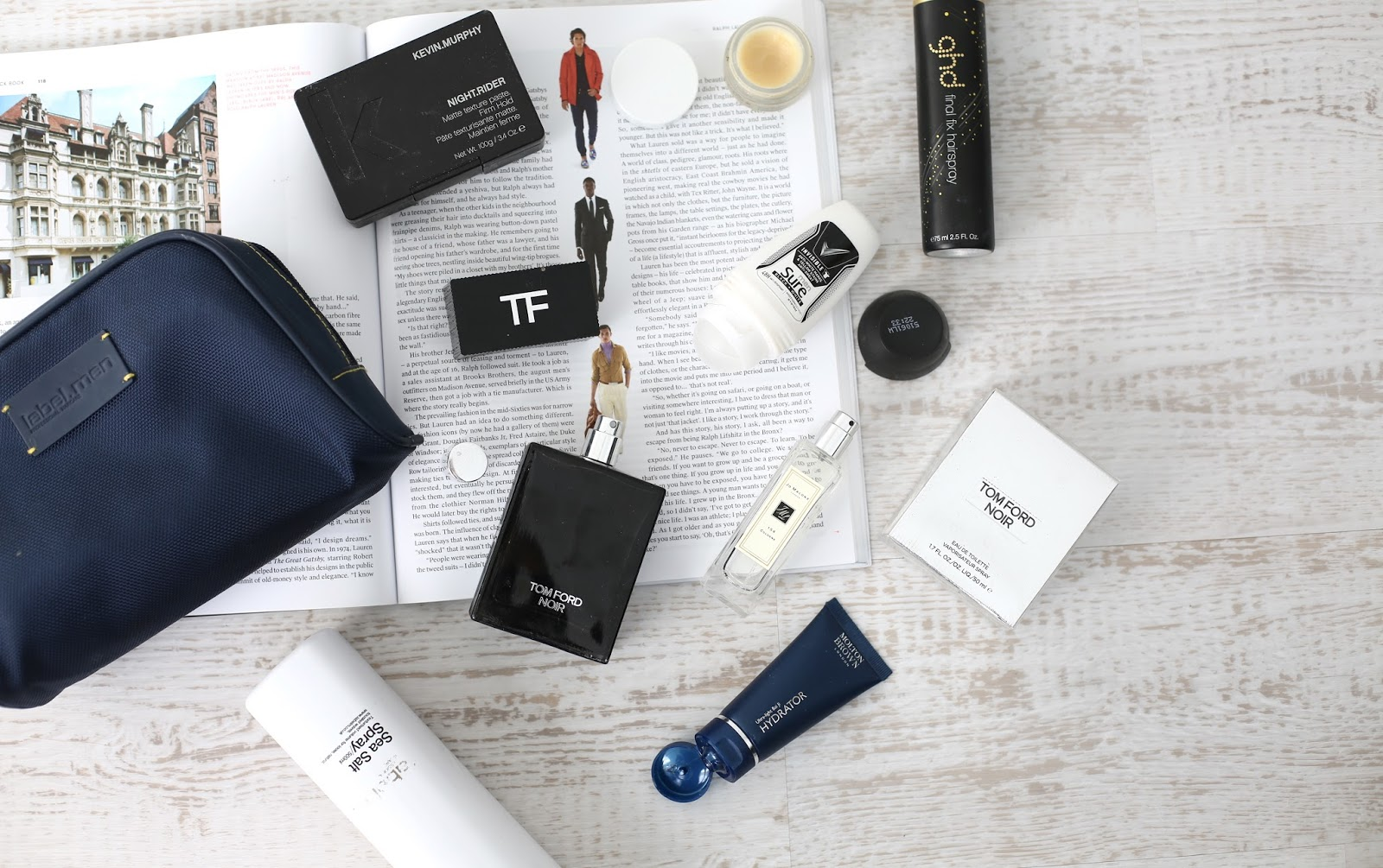 mens grooming essentials