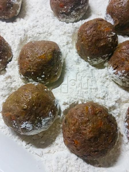 Receta de albóndigas de caza con faba asturiana