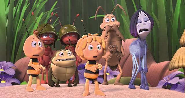 la abeja maya los juegos de la miel