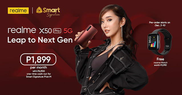 Alodia realme X50 Pro 5G Gizmo Manila