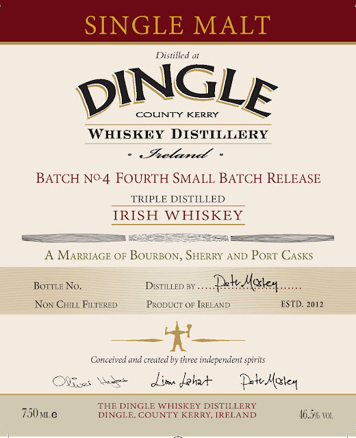 Dingle Whiskey Distillery Batch No 4 Fourth Small Batch Release