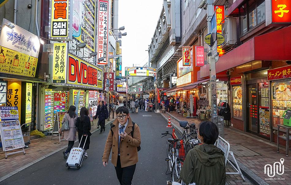 รีวิวเที่ยวญี่ปุ่น : พาเที่ยวตลาดอะเมโยโกะ(Ameyoko)