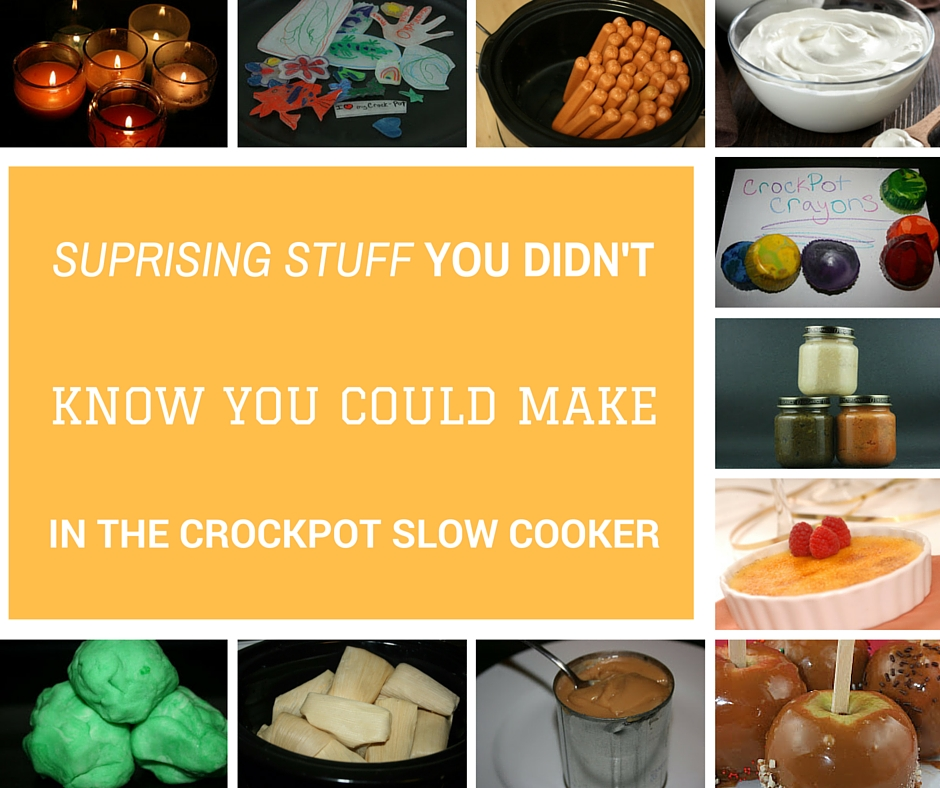 a year of cooking things you didn t you could make in the crock pot cooker