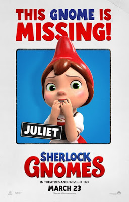 Sherlock Gnomes 2018 Full English 720p BRRip 800MB Download
