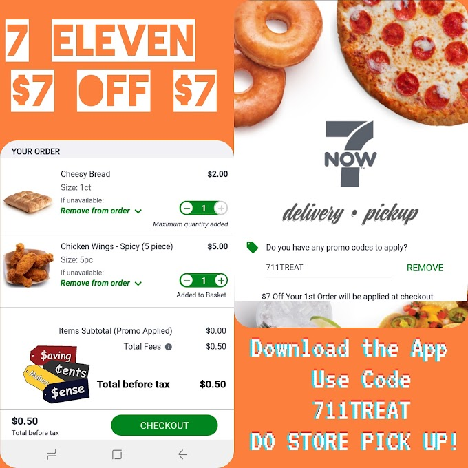 7 Eleven Free Food Promo Code