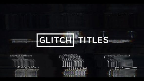 Glitch Modern Titles & Lower Thirds[Videohive][After Effects][28914948]