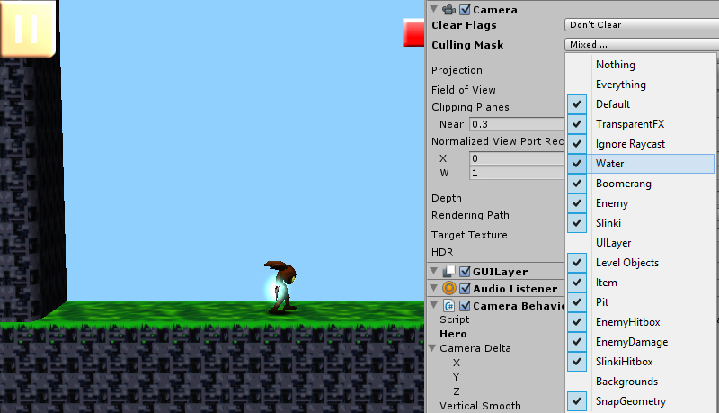 Crushy's devblog: Easy Paralax scrolling on a 2 5D game