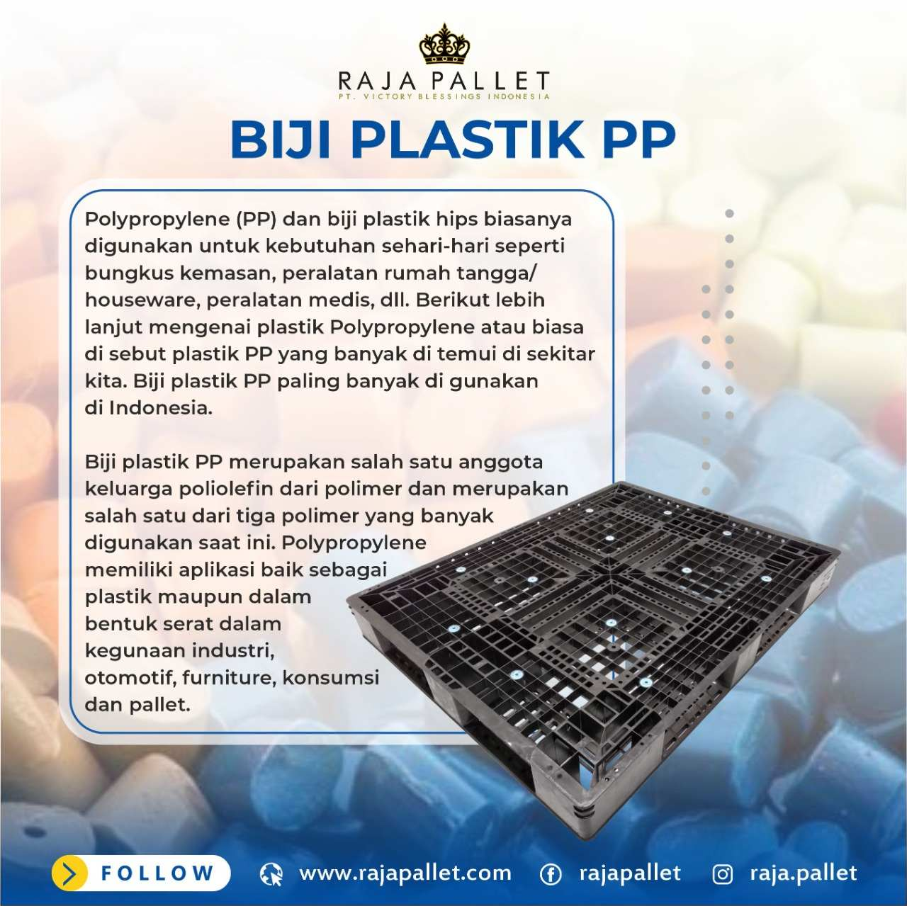 pallet plastik PPE