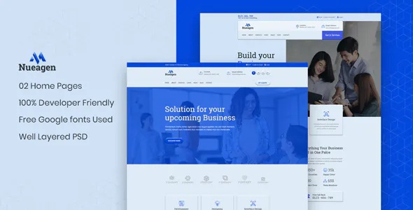 Best Business Agency UI Template