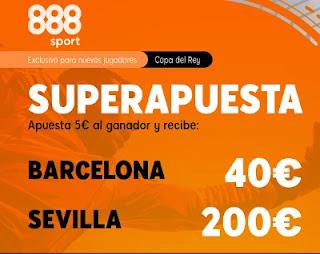 888sport superapuesta Barcelona vs Sevilla 3-3-2021