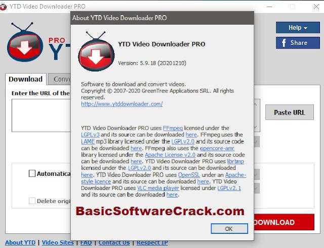 YTD Video Downloader Pro v5.9.18.8 With Crack Key