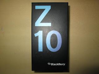 Dus Ponsel Blackberry Z10 Seken Mulus Layak Pake