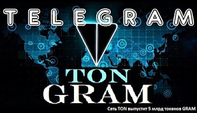 Сеть ТОN выпустит 5 млрд токенов GRAM