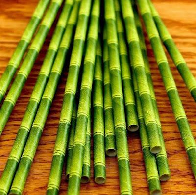 Tiki Paper Straws