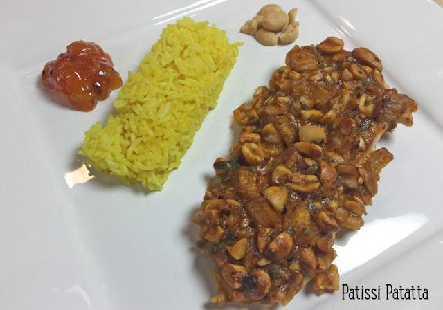 recette de poulet en croute Thaï, poulet Thaï, poulet épicé, cuisiner avec de la pâte de curry, cuisiner avec des cacahuètes, poulet exotique, Thai chicken, spicy chicken, patissi-patatta
