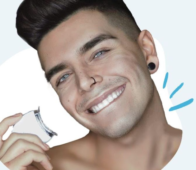 Best teeth whitner for men by barbies beauty bits