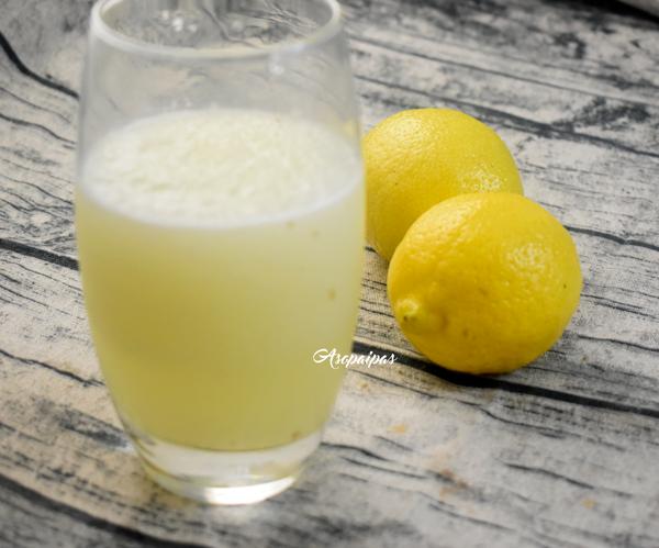 Granizado de Limón. Vídeo Receta