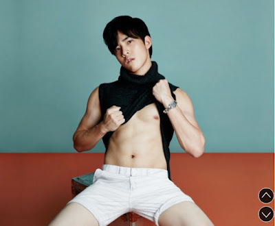 [Attitude Thailand] - Behind the scene - cover VICTOR ZHENG