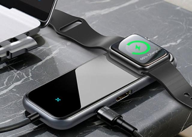Mogi USB-C 6-in-1 wireless charging dock