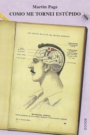 Capa do livro Como me tornei estúpido