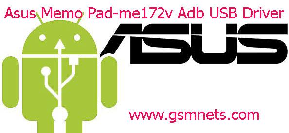 Asus Memo Pad-me172v Adb USB Driver