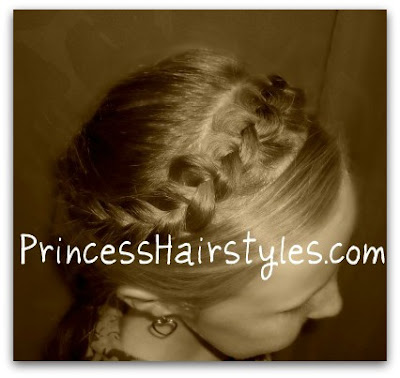 snow white braided hair