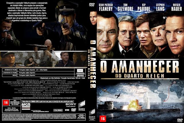 Capa DVD O Amanhecer Do Quarto Reich