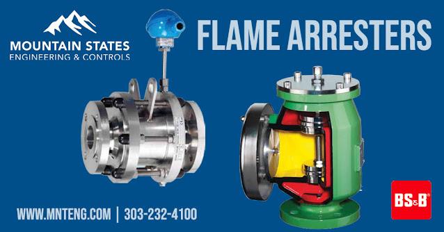 BS&B FlameSaf Arrester Products