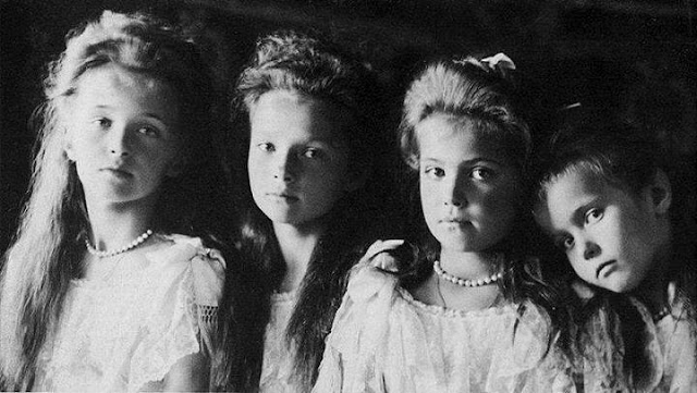 Olga Tatiana Maria I Anastazja Corki Cara Rosji Mikolaja II