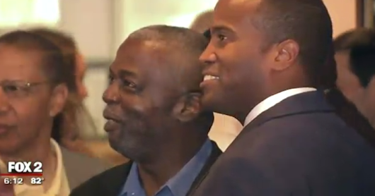 Local News Media Covers John James Political event in Detroit