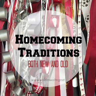 Homecoming Traditions - both new and old!