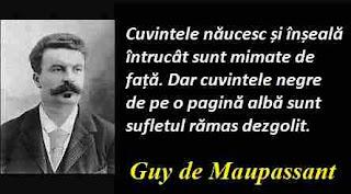 Maxima zilei: 5 august - Guy de Maupassant