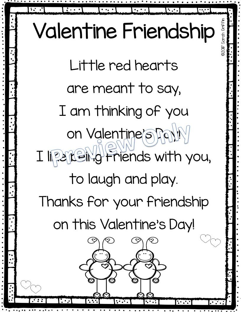 Døtre og Børnehave 5 Valentinsdag Digte For Kids-5603