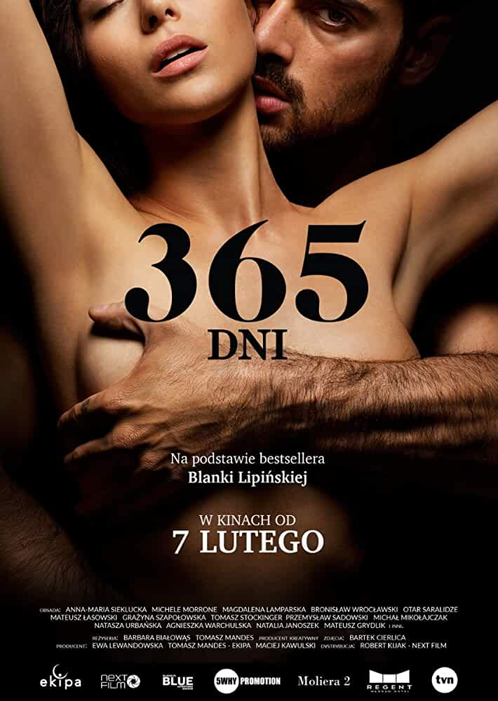 18+ 365 Days 2020 UNRATED English 480p 300MB