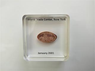 World Trade Center coin souvenir custom paperweight